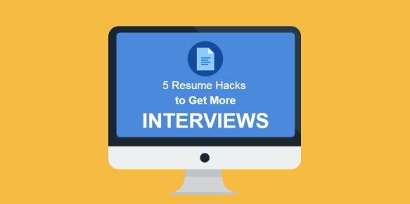 resume hacks interviews